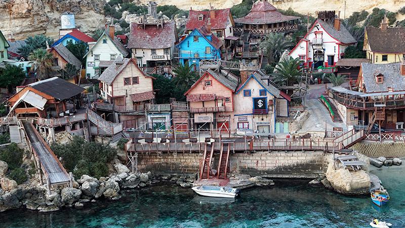 Filmreifer Urlaub – Willkommen im Popeye Village auf Malte